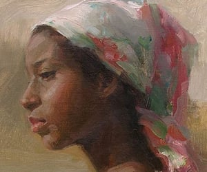 art, beauty, and Oil Painting image