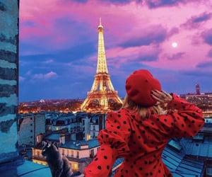 fashion, paris, and love image