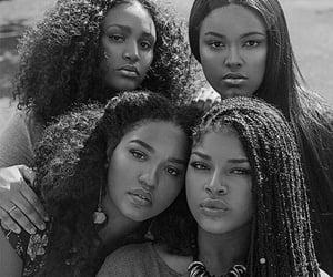 black women, beauty, and braids image