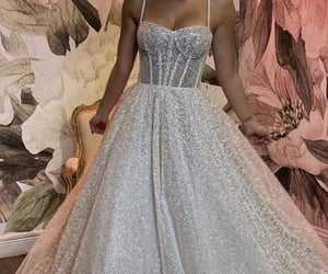 ball gown, beautiful, and cinderella image