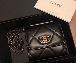 accessoires, black, and clutch image