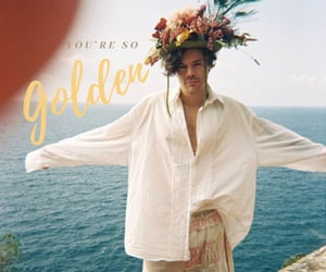 Harry Styles, golden, and harry image