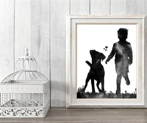 etsy, boxer dogs, and nursery decor image