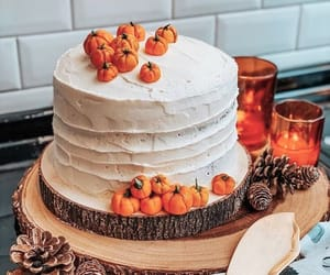 autumn, cake, and dessert image