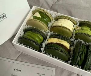 2020, dessert, and dark green image