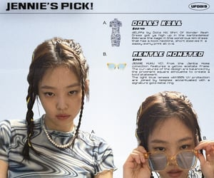 jennie, kpop, and blackpink image