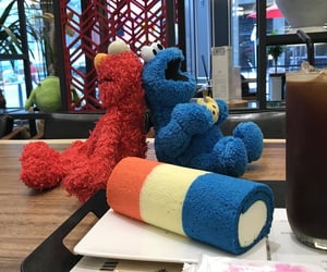cafe, cake, and cookie monster image