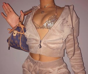 fashion, purse, and bedazzle image