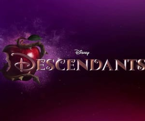article, disney, and if i were in descendants image