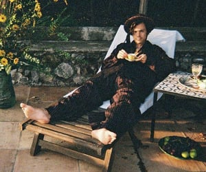 Harry Styles and golden image