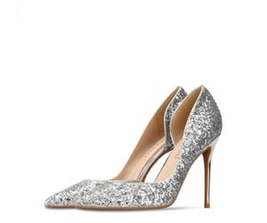 sequins, sparkly, and stiletto heels image