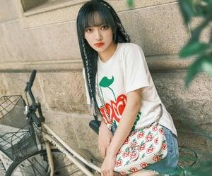 girl, ujung, and idol producer image