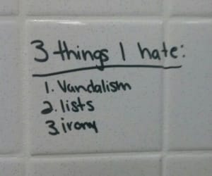 aesthetic, wall, and hate image