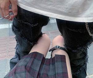 aesthetic, couple, and grunge image