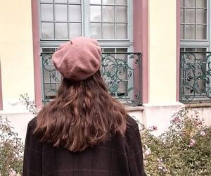 aesthetic, beret, and fashion image