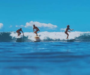 surf, beach, and sea image