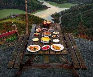food, aesthetic, and forest image