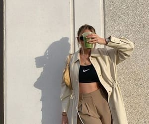 fashion, crop top, and ootd image