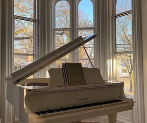 aesthetic, piano, and music image