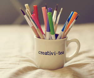 tea, creativity, and creative image