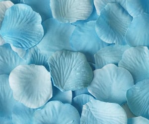 aesthetic, blue, and cloth image