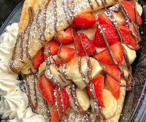 banana, dessert, and food image