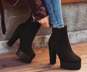 fashion, shoes, and styles image