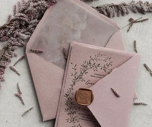 cottage, letters, and mauve image