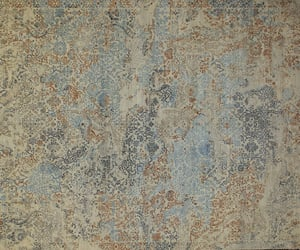 home decor, wool rug, and viscose area rug image