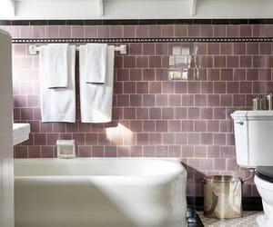 bath, heather, and bathroom image