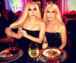 ariel, ladygaga, and Versace image
