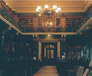 library, book, and photography image