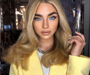 beautiful, blonde, and color image