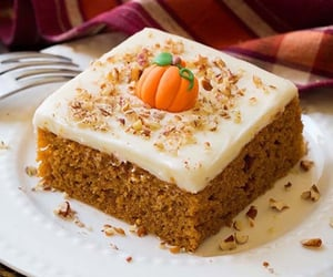 pumpkin, cake, and Halloween image