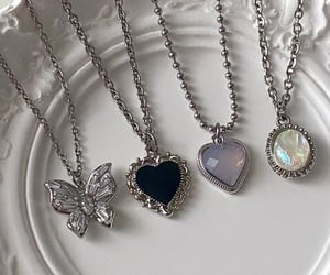 necklace, aesthetic, and jewelry image