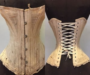aesthetic, gothic, and corset image