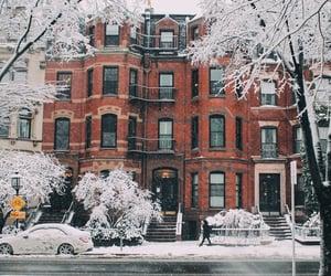 winter, christmas, and city image