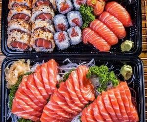 food, sushi, and eat image
