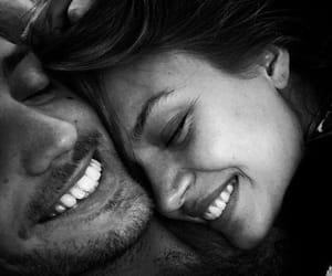 couple, love, and smile image