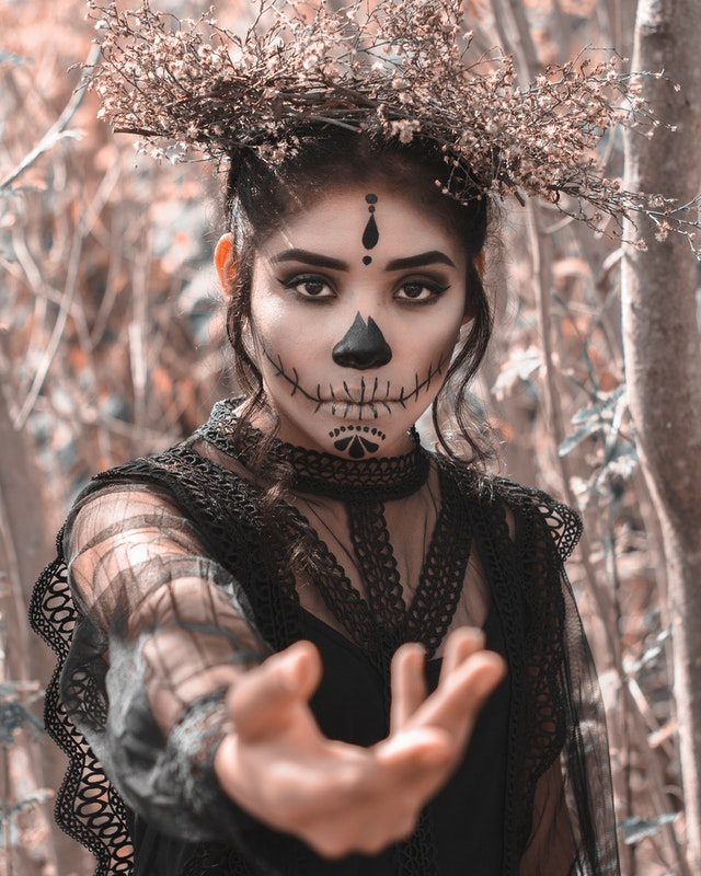 article, makeup, and halloween costume image