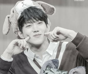 black and white, fansign, and day6 image