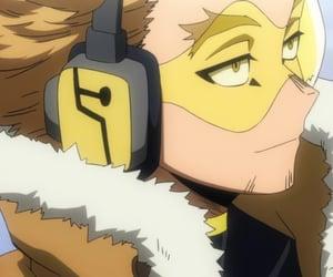 anime, hawks, and my hero academia image