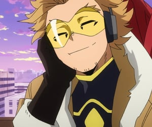 hawks, my hero academia, and anime image