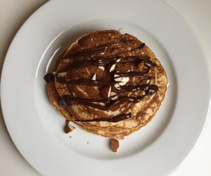 almond, breakfast, and chocolate image