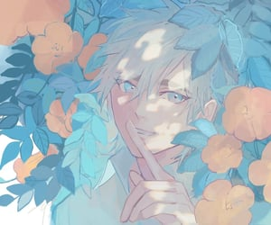 aesthetic, anime, and pastel colours image