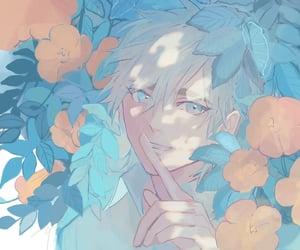 anime, beautiful, and boy illustration image