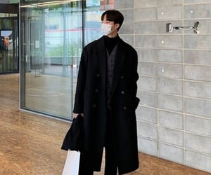 asian boy, korean, and outfits image