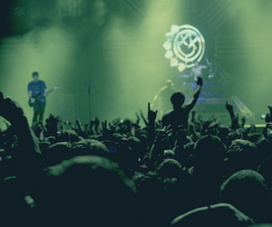 blink 182, concert, and show image