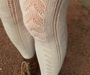 casual, fall, and pantyhose image