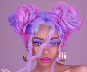 colorful, hairstyle, and cute image